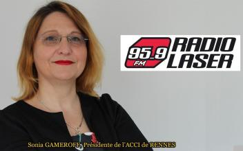 L'antisémitisme - Interview de Sonia GAMEROFF sur Radio Laser le 19-02-2019