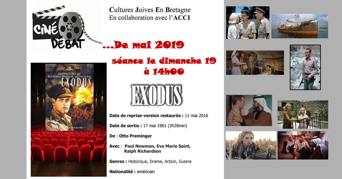 Film EXODUS « Ciné-Débat » Dimanche 19 mai 2019
