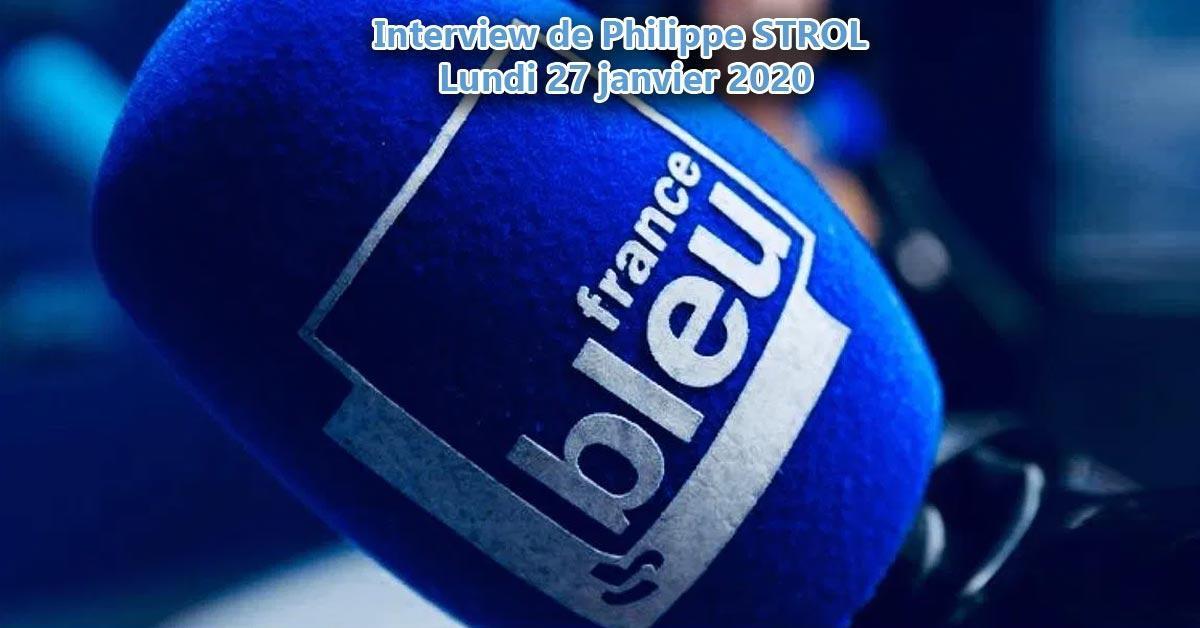 Philippe STROL Président de l'ACCI de Rennes sur Radio France bleu Armorique
