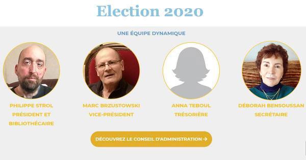 Le Conseil d'administration de l'ACCI de Rennes