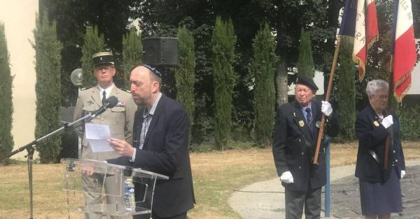 Discours de Philippe Strol le dimanche 21 juillet à l'occasion de la Cérémonie à la mémoire des victimes des crimes racistes et antisémites de l'État français et d'hommage aux « Justes » de France