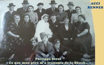 Philippe Strol «Ce que mon père m'a transmis de la Shoah…»