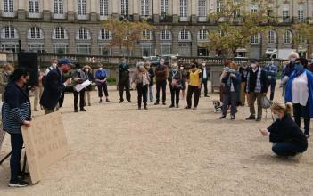 Rassemblement à Rennes pour Sarah Halimi z'l - Dimanche 25 avril 2021