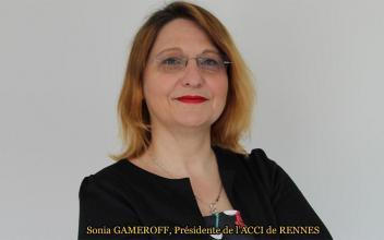 Sonia Gameroff, Présidente de l'ACCI de Rennes de novembre 2016 au 28 août 2019